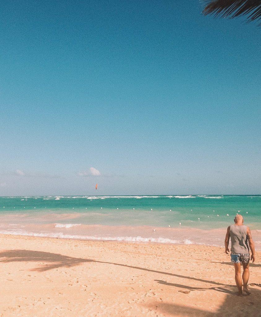 der perfekte Strand in Punta Cana